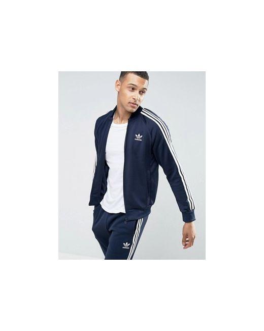 49287096 Мужская Синяя Спортивная Куртка Superstar Bk5919 adidas Originals ...